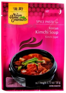 Pasta Do Koreańskiej Zupy KimChi 50g ASIAN HOME GOURMET