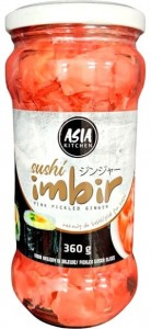 Imbir Różowy Do Sushi 340g ASIA KITCHEN