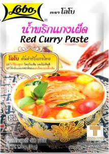 Czerwona Pasta Red Curry Saszetka 50g LOBO
