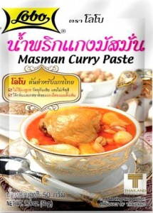 Pasta Curry Masman 50g LOBO