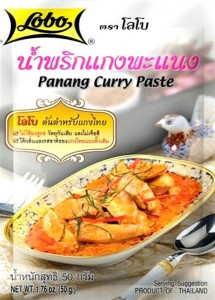 Pasta Curry Panang 50g LOBO