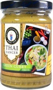Zielona Pasta Curry 227g THAI DANCER