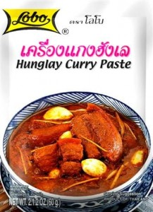 Pasta Curry Hunglay 60g LOBO