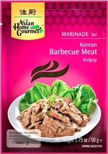 Marynata Koreańska Sos Do Potrawy Bulgogi 50g ASIAN HOME GOURMET