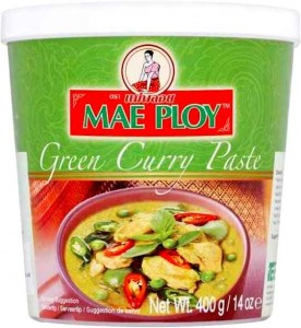 Pasta Curry Green Zielona 400g MAE PLOY