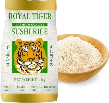 Ryż Do Sushi 1kg ROYAL TIGER