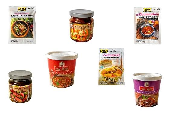 Odmiany i Rodzaje Past Curry