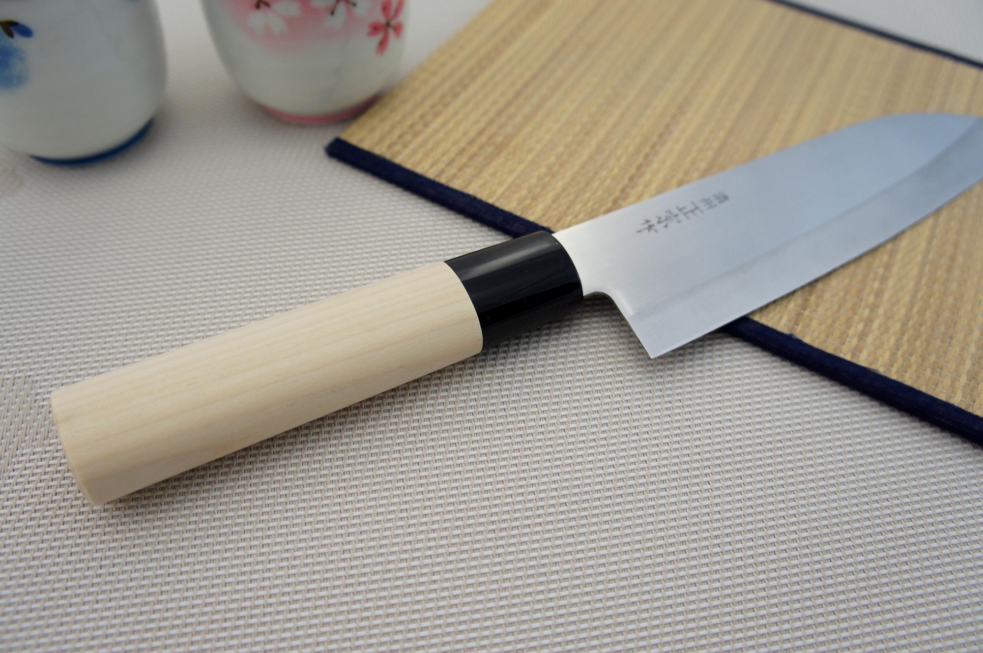55b14f244ed4 Satake Megumi Nóż Santoku 17cm PrzepisyChinskie.pl